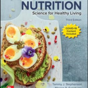 Test Bank for Human Nutrition: Science for Healthy Living, 3rd Edition Stephenson