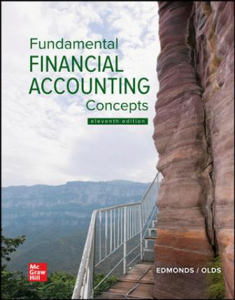 Test Bank for Fundamental Financial Accounting Concepts, 11th Edition Edmonds