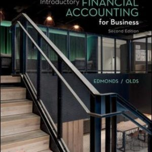 Test Bank for Introductory Financial Accounting for Business, 2nd Edition Edmonds