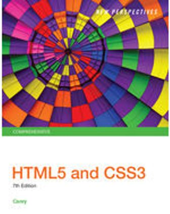 Test Bank for New Perspectives HTML5 and CSS3: Comprehensive, 7th Edition Carey