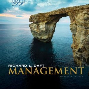 Solution Manual for Management, 13th Edition Daft
