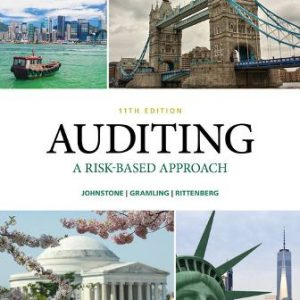 Test Bank for Auditing: A Risk Based-Approach, 11th Edition Johnstone-Zehms
