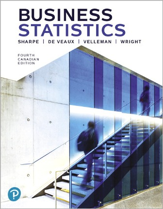 Solution Manual for Business Statistics, 4th Canadian Edition Sharpe