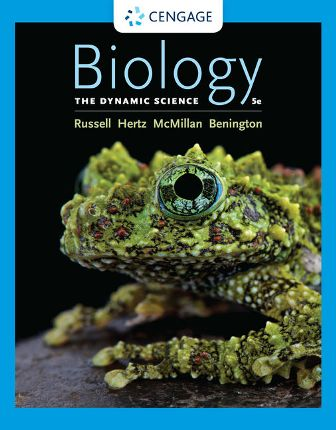 Test Bank for Biology: The Dynamic Science, 5th Edition Russell
