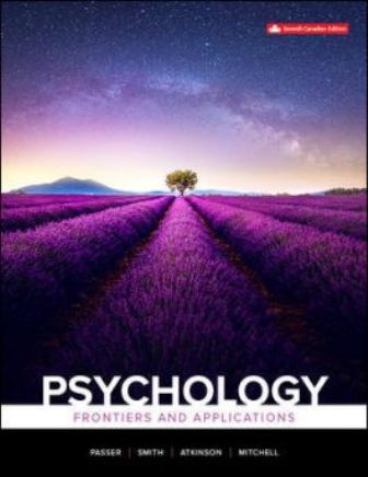 Test Bank for Psychology: Frontiers And Applications, 7th Canadian Edition Passer