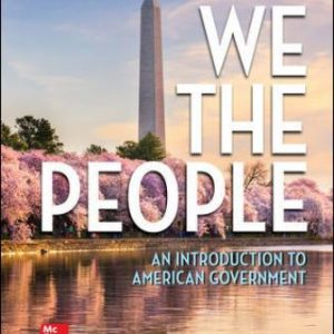 Solution Manual for We The People, 14th Edition Patterson