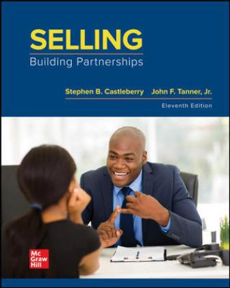 Test Bank for Selling: Building Partnerships, 11th Edition Castleberry