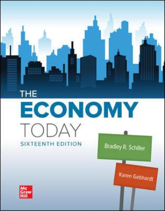 Test Bank for The Economy Today, 16th Edition Schiller