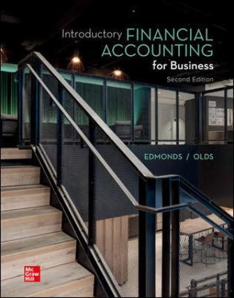 Test Bank for Introductory Financial Accounting for Business, 2nd Editioon Edmonds