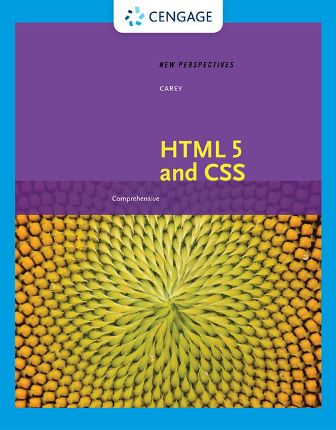 Solution Manual for New Perspectives on HTML 5 and CSS: Comprehensive, 8th Edition Carey