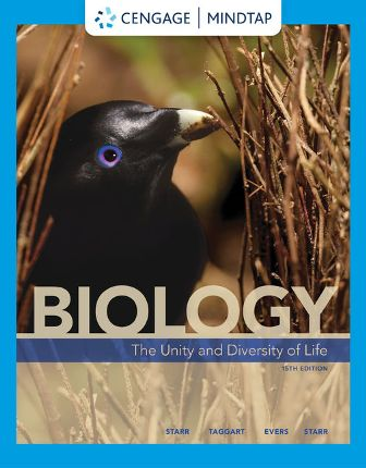 Test Bank for Biology: The Unity and Diversity of Life 15th Edition Starr