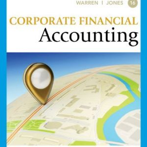 Test Bank for Corporate Financial Accounting 16th Edition Warren
