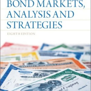 Solution Manual for Bond Markets Analysis and Strategies 8th Edition Fabozzi