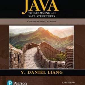 Test Bank for Introduction to Java Programming and Data Structures Comprehensive Version 12th Edition Liang