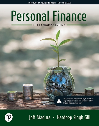 Test Bank for Personal Finance 5th Canadian Edition Madura