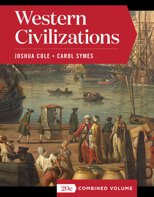 Test Bank for Western Civilizations Full 20th Edition Combined Volume Cole