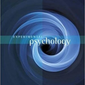 Test Bank for Experimental Psychology 10th Edition Kantowitz