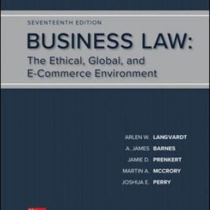 Solution Manual for Business Law 17th Edition Langvardt