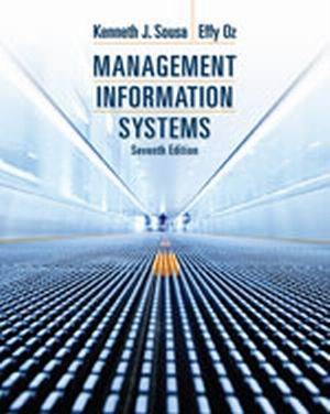 Test Bank for Management Information Systems 7th Edition Sousa