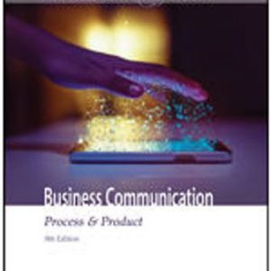 Test Bank for Business Communication: Process & Product 9th Edition Guffey