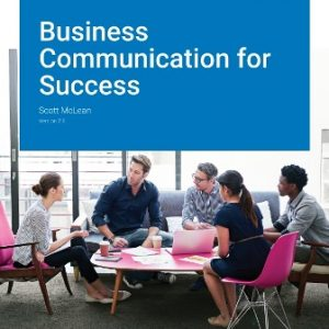 Test Bank for Business Communication for Success Version 2.0 McLean