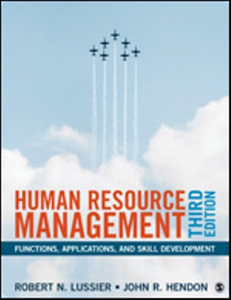Solution Manual for Human Resource Management Functions, Applications, and Skill Development 3rd Edition Hendon