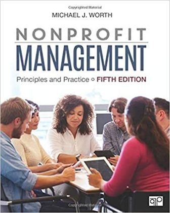 Test Bank for Nonprofit Management: Principles and Practice 5th Edition Worth