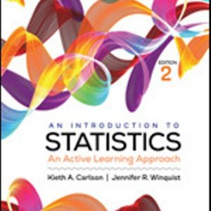 Test Bank for An Introduction to Statistics An Active Learning Approach 2nd Edition Carlson